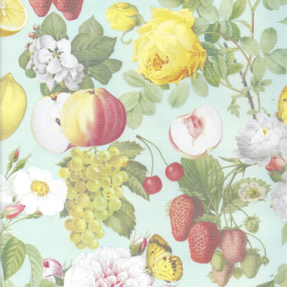 Ribbed Summer Fruit Wrapping Paper