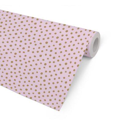 Matte Spots on Pink Counter Roll