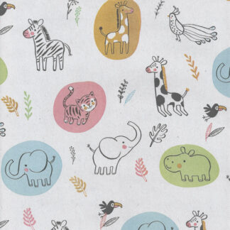 Matte Hippo Wrapping Paper