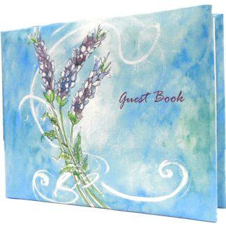 Lavender Guest Book