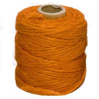 Orange Jute Twine