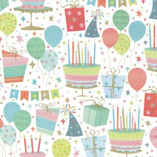 Party Decor Wrapping Paper