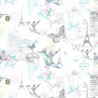 French Provincial Wrapping Paper