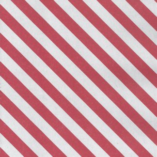 Matte Diagonal Red Wrapping Paper