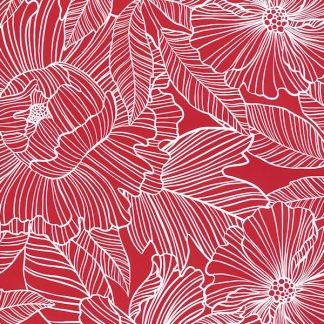 Red Marquet Wrapping Paper