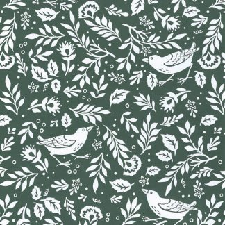 Matte Green Cotswold Wrapping Paper