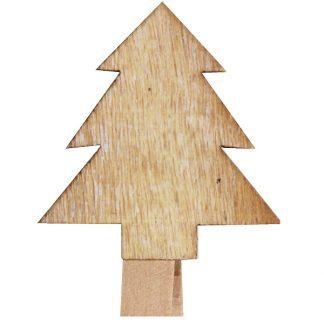 Tiny Tree - Wooden Peg Clips
