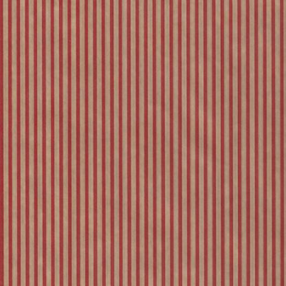 Ribbed Red Stripe Wrapping Paper