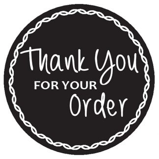 Thank your for your order