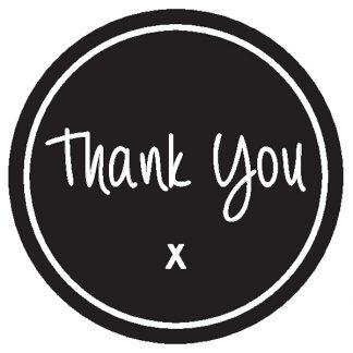 Thank You X Sticker