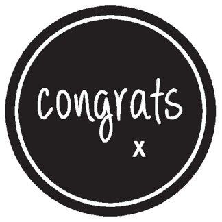 Congrats Sticker